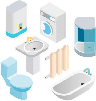 Riparazione elementi idraulici